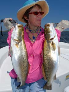 Fishing Shallow Saltwater Fishing.  Article written by Capt. Joe Richard
