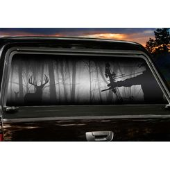 Hunting Shadow Hunter Window Tint - great way to customize my pickup