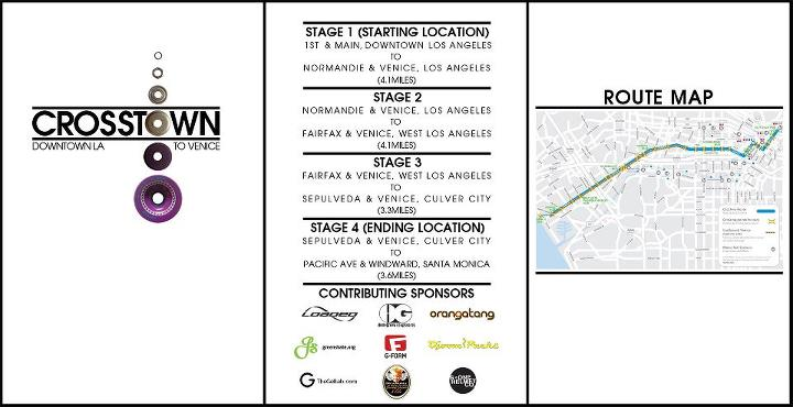Skateboard Join us for a crosstown greenskate in Los Angeles this Sunday!