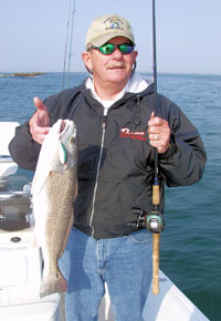 Fishing Jetty Fishing.  Article written by Ron Brooks