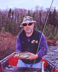 Flyfishing Change Up for Brook Trout - There's nothing like a small backwoods lake.  Article by Steve Galea