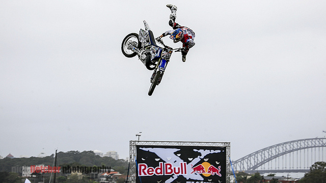 Motorsports Red Bull x-Fighters 2012 at Cockatoo Island, Sydney