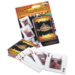 Hunting Ultimate Deer Camp Card Deck    $6.99