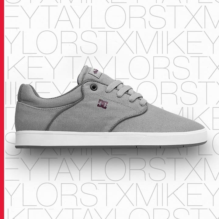 Motorsports New for summer is the Mikey Taylor TX in mojave. It has the same sleek shape and fit of Mikey's signature shoe, with a durable canvas upper for a more casual look and feel. Check it out at: www.dcshoes.com/skate.
