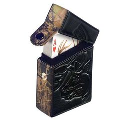 Hunting Mossy Oak Leather Deluxe Card Case   $14.99
