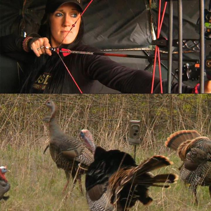 Hunting Melissa Bachman shares a great tip for using your scouting camera while turkey hunting. 