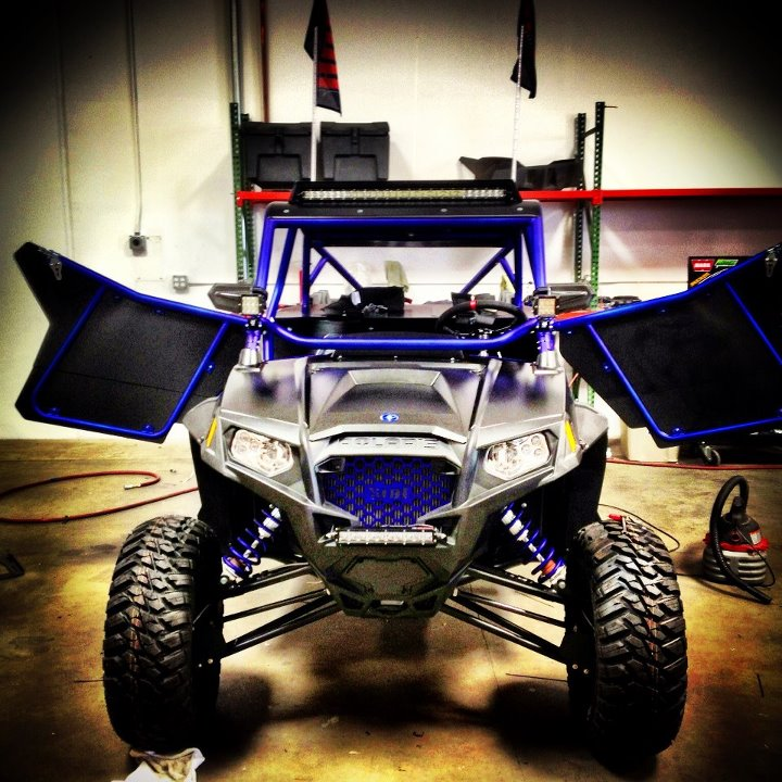 Motorsports Cool shot of the UTVUnderground.com RZR XP 900