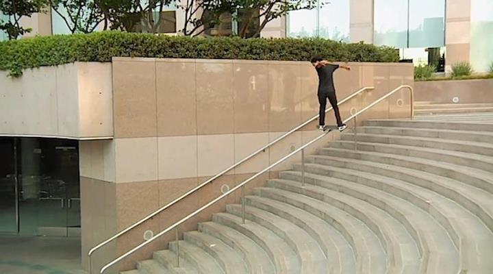 "Skateboard Oscar Meza ""Let It Ride"" - sick skater, amazing edit, and still going strong on www.thrillon.com/skateboard!  In case you missed it...plus a link to the slams/outtakes video.  VIDEO I: Let It Ride: www.thrillon.com/tag/oscar-meza-let-it-ride VIDEO II: Sla"