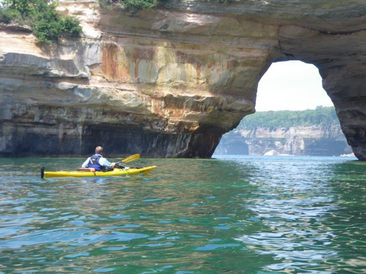 "Kayak and Canoe Act now and get 30% off for May and June on our ""Paddlers Choice kayak trip at the Pictured Rocks. Website is: www.paddlingmichigan.com Call 906-228-5447 for your reservation."