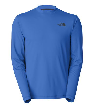 This Watershirt is a comfortable short-sleeve watershirt that's designed for optimum performance on all-day water excursions. This four-way stretch crewneck T-shirt has a QuickDry treatment to stay lightweight when wet and speed overall drying time. UPF 50 offers extra protection from the harsh glare of the sun off the water. Constructed with relaxed fit and flat-locked stitching throughout to reduce the potential for abrasion and chafing. Small logo on left chest. - $22.50