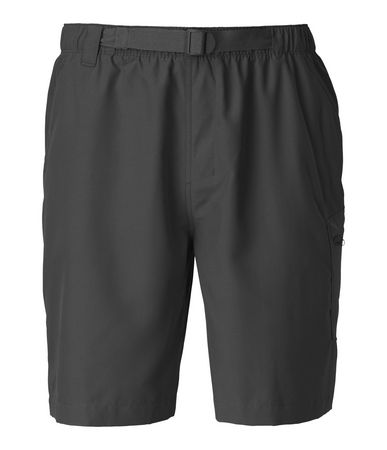 The QuickDry treatment on these lightweight polyester shorts discourages water absorption, enabling you to roam from the river to the trail with ease. The elastic waistband is designed with a built-in belt for a secure fit that won't ride down. These 10 inseam trunks are constructed with a crotch gusset and relaxed fit that's cut wider in the thigh for improved freedom of movement. Cargo pocket securely fastens with a zip closure with a key loop. Finished with a water-friendly mesh liner for next-to-skin comfort. - $36.00