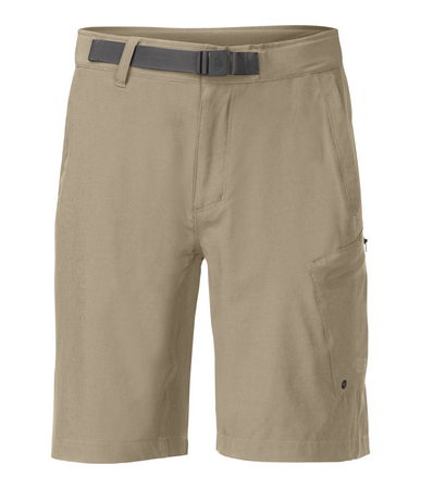 Kayak and Canoe The North Face Apex Washoe short in beige is ready for action. Hop into the car or into the kayak.  Quick drying, fantastic ease of movement, nylon belt with quick release attachment.  Active fit for all day performance on land or sea. - $32.65