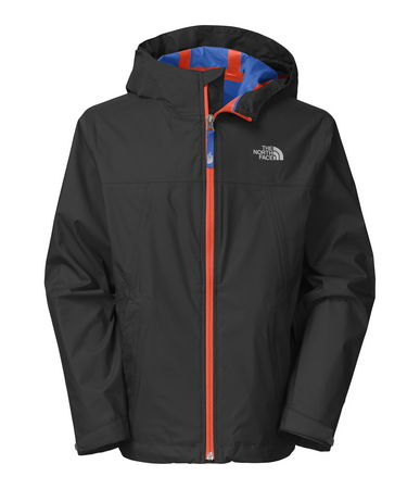 He'll enjoy staying warm and dry while exploring the outdoors on rainy days with this waterproof, hooded boys' rain shell. Durable HyVent(R) 2L technology features multi-layer waterproofing that's also highly breathable for improved temperature regulation. Taped seams prevent rain from seeping in and soaking midlayers - $85.00