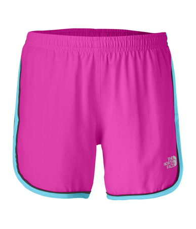 "Versatile, woven 3.5"" inseam shorts let her get mobile without restricting her movement. The comfortable elastic waistband adjusts with an internal drawstring for a perfect fit. - $25.00"