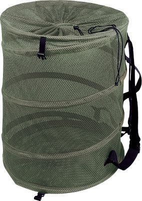 All the same basic features of the standard-size bag but with the capacity to hold up to 24 magnum or 36 standard-sized decoys. A spiral coil spring keeps this bag open and upright making loading and unloading decoys easy. Collapses for convenient, compact storage. Heavy-duty, rotproof polyester mesh. Adjustable 2 web shoulder straps. Drawstring and barrel-lock closure. Colors/Camo patterns: Olive, Advantage MAX-4 HD. Color: Olive. - $54.99
