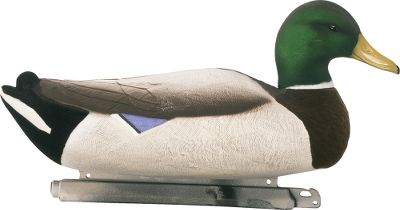 "Toss a half-dozen fully flocked drakes alongside traditionally painted decoys and marvel at the jaw-dropping difference they flat-out duplicate a greenhead. The detailed flocking pattern eliminates all unnatural shine, showing season-hardened flocks colors they're used to seeing only from real ducks. Foam filled to stay reliably afloat through many seasons of hard use. Weighted keel. 18"" long. Drakes only. Per 6. Type: Mallard Duck Decoys. Mallard. - $89.88"