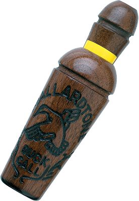 Hunting Mastering this call is quick and easy. But it produces lifelike highballs, greeting calls and chuckles. Lets you choose the volume so it can be used on big water or in flooded timber. Type: Single Reed. - $19.88