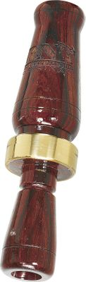 Traditional cocobolo-wood construction produces superior, competition-quality sound. This single-reed call will do it all from top to bottom. Cocobolo has a high oil content to perform well in wet conditions.Available: Cocobolo Wood, African Blackwood. - $74.99
