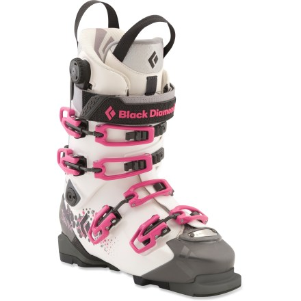 Ski The stiff and powerful women's Black Diamond Shiva randonee boots give you one boot to do it all on backcountry excursions. - $279.83