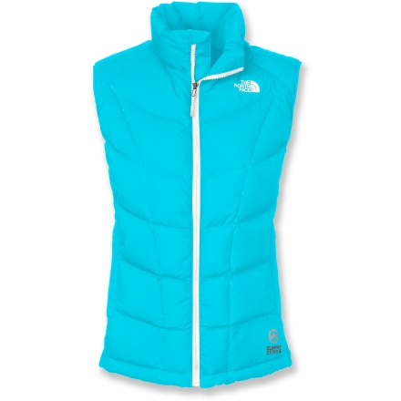 Ski The North Face A-Back Hybrid down vest hits the sweet spot between too much warmth and too little, offering crucial insulation to your core without inhibiting movement while you're on the go. - $85.73