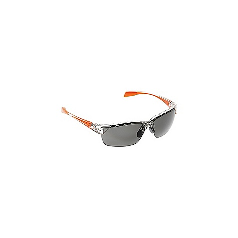 The Native Eastrim Polarized Sunglasses Are a rimless sunglass for fast moving athletics. The co-injected Rhyno-Tuff air frames combine the lightweight strength of High-Performance thermoplastic with the grippy comfort of Cushinol(TM). Customize the Fit with the Flex Metal(TM) nose pads so they stay put when you're moving along the trail. The medium to large Fit covers the eyes with N3(TM) Polarized lenses, blocking harmful UV rays and giving clear, crisp outdoor vision. Keep the day going even in the clouds, thanks to the interchangeable lenses and included SportFlex(TM) lens kit. Features of the Native Eastrim Polarized Sunglasses Interchangeable Lens System Co-Injected Molding: Native frames now seamlessly incorporate their grippy, comfortable molding right into the plastic Rhyno-Tuff Air Frames: Made with proprietary High-Performance thermoplastic material that is extremely lightweight, yet durable enough to withstand High-velocity collisions and temperature extremes Side Venting Cushinol: Cushinol nose pads ensure a soft feel and custom Fit, regardless of nose shape or size, and Cushinol temple boots create a non-slip grip to keep sunglasses in place during athletic activity Cam-Action Hinges: This patented feature allows the temple to quickly lock into position Mastoid Temple Grip: This proprietary design feature ensures the temple ends hug the mastoid bone (behind your ears), allowing for a secure and comfortable Fit N3 Lens Technology: This is the most innovative and advanced polarized lens on the market. For real. N3 lenses block up to 4 times more infrAred light than regular polarized lenses, pass Z87.1 testing, provide UV protection up to 400nm, and by significantly reducing blue light and selectively filtering UV, they deliver High contrast, crisp definition, and peak visual acuity. Flex Metal Adjustable Nose Pad System Optic Gear Kit and SportFlex Included Fit Profile: Medium - Large - $128.95