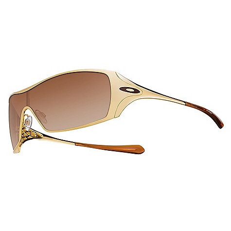 Fitness Free Shipping. Oakley Women's Oakley Dart Sunglasses DECENT FEATURES of Oakley Women's Oakley Dart Sunglasses Fashion of uniquely feminine frame geometry Accents of sculpturally detailed hinge webbing and metal icons Expanded field of view via extended lens coverage Maximized clarity at all angles of vision with patented Oakley XYZ Optics Optimized peripheral view and side coverage of Polaric Ellipsoid lens geometry Comfort and durability of ultra-lightweight C-5 frame material UV protection of Plutonite lens material that filters out 100% of UVA / UVB Optical precision and performance that exceeds all ANSI Z80.3 standards Impact resistance that meets all ANSI Z80.3 standards Varied field of light transmission (top to bottom) via optional gradient lens shading Convenience and styling of exclusive women's eyewear case (included) The SPECS Eye: 131 Bridge: 0 B: 42 - $170.00