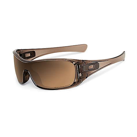 Free Shipping. Oakley Antix Polarized Sunglasses DECENT FEATURES of Oakley Antix Polarized Sunglasses Durability and all-day comfort of lightweight, stress-resistant O Matter frame material Precision and durability of sculpturally integrated hinge mechanisms with dual action CAM Optimized peripheral view and side coverage of Polaric Ellipsoid lens geometry Comfort and Performance of Three-Point Fit that holds lenses in precise optical alignment Metal icon accents, with new square icon design Optical precision and performance that meets ANSI Z87.1 standards Impact resistance that meets ANSI Z87.1 basic impact standards UV protection of Plutonite lens material that filters out 100% of UVA / UVB / UVC & harmful blue light up to 400 nm Glare reduction and tuned light transmission of Iridium lens coating (optional) Minimized glare via technology that produces the best polarized lenses on the planet The SPECS Eye: 132 Bridge: 0 B: 38 - $170.00