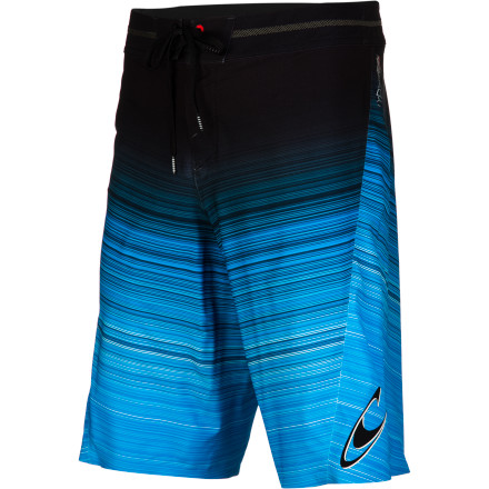 Surf No more restrictions, no more coming out of a churner naked. The ridiculously strong, light, and hyper-stretchy O'Neill Men's Hyperfreak XT2 Board Short answers your surfing prayers. With a mind-blowing 190% vertical and 180% horizontal stretch, this wonder short lets you get down on any wave. O'Neill ultrasonically welds flat, smooth, stretchy seams and omits the inseam for chafe-free comfort. The waistband TPU-coated drawcord locks for a secure fit, and KEVLAR reinforcements keep things together and snug to prevent loss when you get a thrashing. This coolly styled short even features silver woven into the fabric to fight stink, because with all this performance you won't want to offend your new fan club. - $99.45