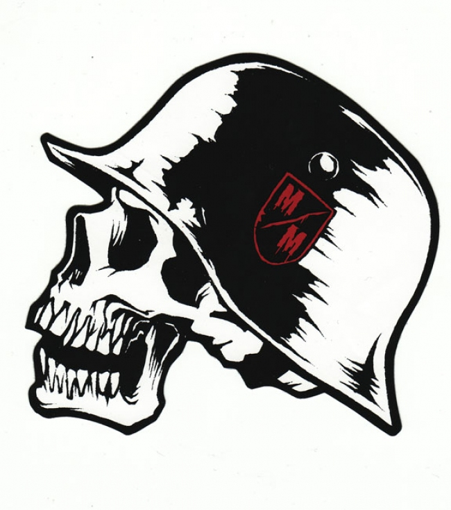 Motorsports 6'' Metal Mulisha sticker - $2.00