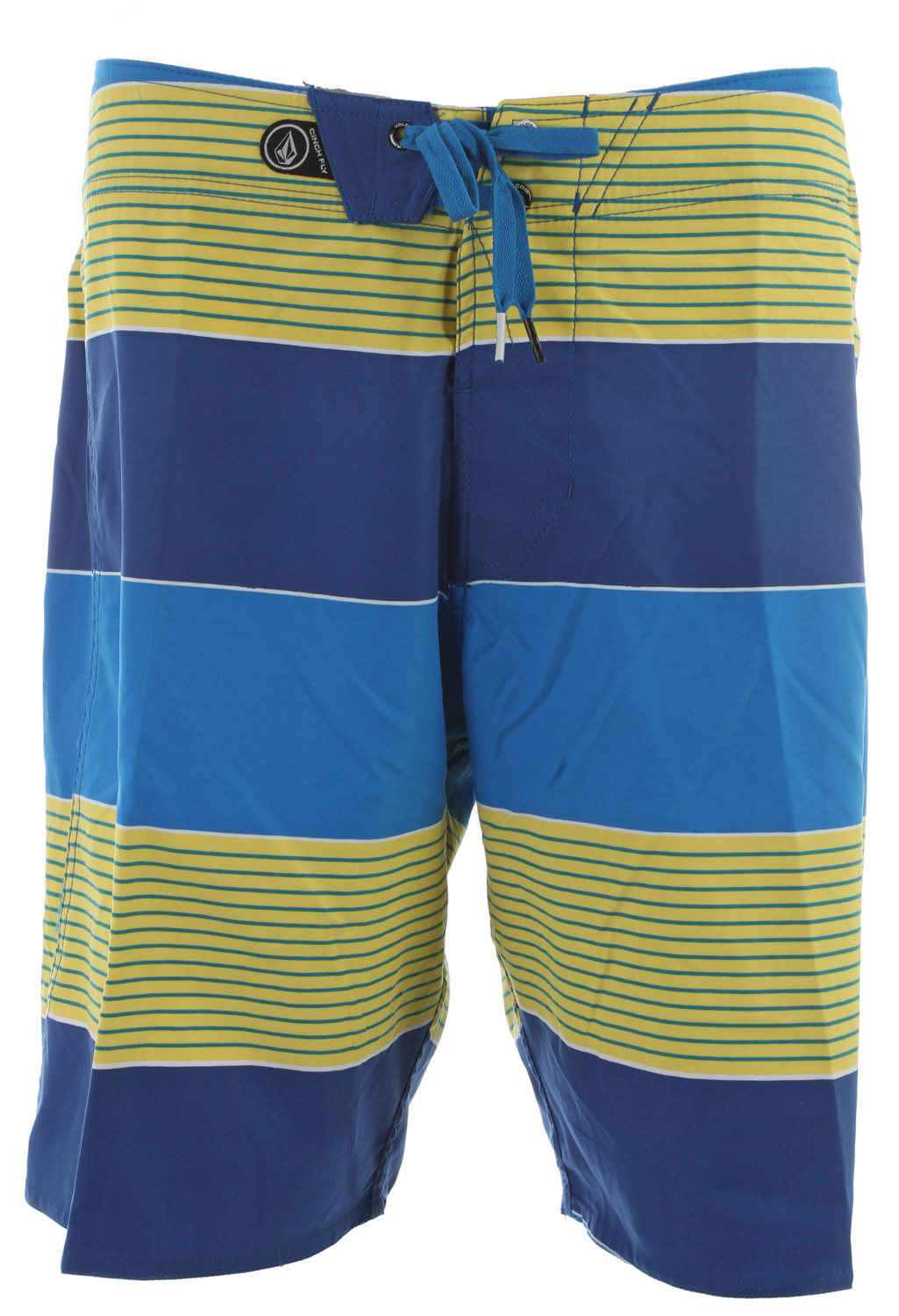 "Skateboard Key Features of the Volcom Maguro Stripe Boardshorts: 20"" Outseam boardshort Volcom 2 way stretch Rubber Circle stone Back flap pocket Embroidered eyelet on pocket 100% Polyester 2 Way Mechanical Stretch Cinch Fly Technology - $31.95"