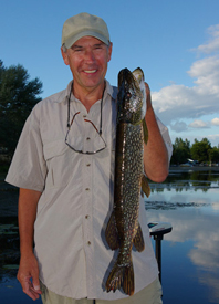 Fishing Pike Fishing 101: Locations & Tackle.  Article written by Justin Hoffman