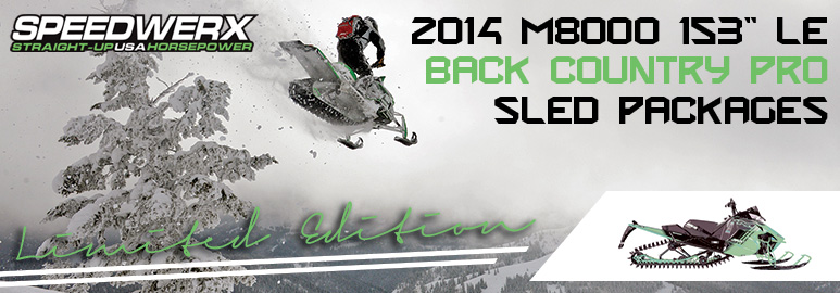 Snowmobile Speedwerx 2014 Turn Key Limited Edition Sled Packages