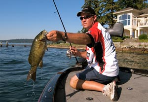 Fishing Sammamish Smallies.  Article written by James O. Fraioli