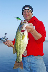 Fishing Headwaters For Prespawn Bass.  Article written by Keith Sutton