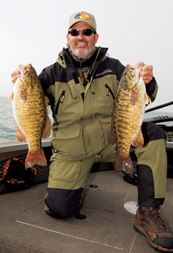 Fishing Powerhouse Smallies - river-run reservoirs have the perfect habitat.  Article by Don Wirth
