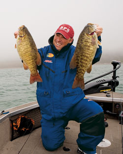 Fishing Crankin' Reservoir Smallmouths - Two legendary smallmouth guides present options for crankin' reservoirs.  Article by Don Wirth