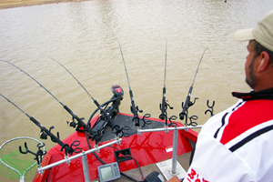 Fishing Spider Rigging for Crappie.  Article written by Keith Sutton