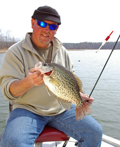 Fishing Crappie Fishing During Spring's Spawn. Article written by Keith Sutton