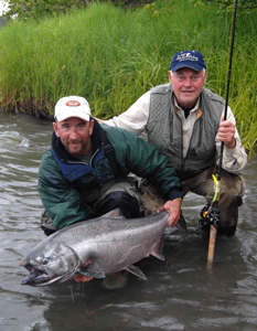 Fishing Off-Season Kenai Kings