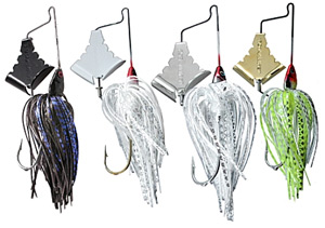 "Fishing Buzzbait Strategies for Bass - They don't call buzzbaits ""heart attack lures"" for nothing!  Article by Wade Bourne"