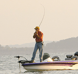 Fishing Hook-Setting Basics:  Setting the hook is a relatively simple motion once you get the hang of it.  Article by Tim Allard