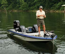 Fishing Choosing the Right Trolling Motor.  Article written by Justin Hoffman