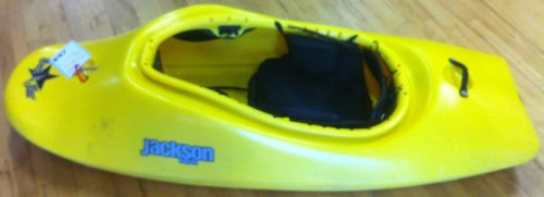 Kayak and Canoe Sweet deal on a Jackson Kayak Rockstar MED. 