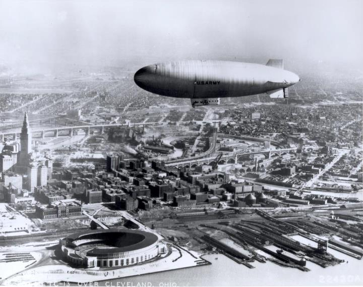 Guns and Military In honor of Throwback Thursday, we go back to our Army Air Corps roots to highlight dirigible airships. The Army started developing dirigibles in the 1920s because of their reconnaissance, bombardment and transportation capabilities. Their slow speed, poo
