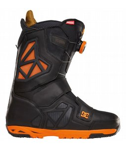 Snowboard DC Travis Rice Status BOA Snowboard Boots Black/Orange 2013 - Mens    $350.00