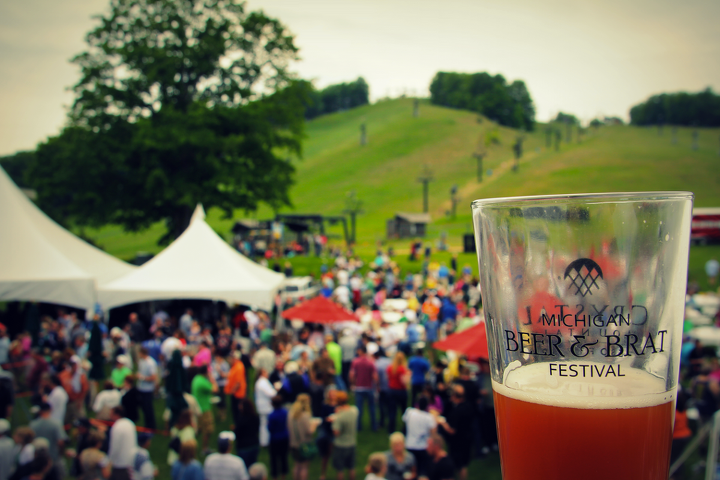Entertainment Kick off Summer with the Memorial Day Beer & Brat Festival at Crystal Mountain on May 25th! Sample 99 of Michigan's finest beverages and gourmet brats from northwest Michigan markets. Tickets currently 50% off, get 'em while you can! http://bit.ly/18rEdp7