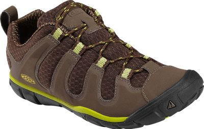 Keen Womens Haven CNX Trail Shoes provide big-time comfort for the serious trail hiker. Cinch up the 2mm static laces, and the durable synthetic overlays and breathable 3-D mesh surround your feet in breathable comfort. Dri-Lex linings help reduce friction and wick moisture away from your feet. Proprietary, lightweight, polyurethane midsoles and built-in metatarsal ridges provide natural underfoot for all-day support and comfort. Patented protection in the toe areas keeps jutting rocks from stopping your progress. The nonmarking rubber outsoles feature multidirectional flex grooves that enhance your flexibility and improve ground contact. Imported.Womens sizes: 5-11 medium width. Half sizes to 11.Colors: Chartreuse, Gargoyle/Super Lemon, Hot Coral. - $109.99