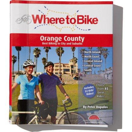 Fitness From short family trips on mellow paths to high-mileage tours for fit riders, Where to Bike: Orange County contains complete descriptions of 85 rides. - $22.95