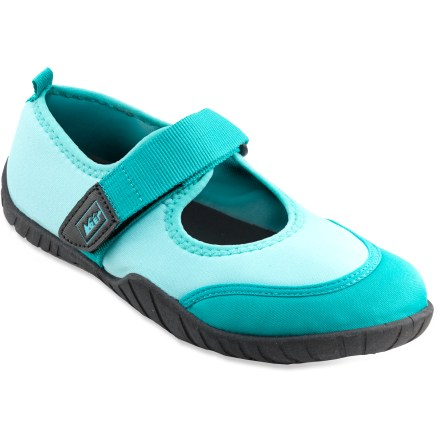 Surf Our REI Maryjane girls' water shoes offer aquatic comfort and grip in a fun style. - $8.83