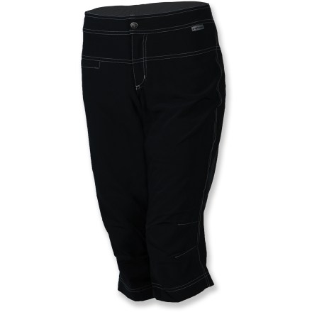 Fitness From the bike to the beach, the Shebeest Boardrider bike capris with removable liner shorts are 2-for-1 for multisport and apres-sport use. - $62.93